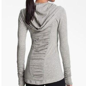 Zella hoodie shirt gray